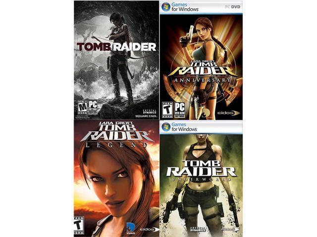 Tomb Raider Complete Pack (Base + Anniversary + Legend + Underworld) [Online Game Codes]
