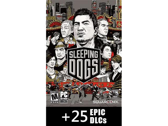 Sleeping Dogs Essentials (Base + 25 DLCs) [Online Game Codes]