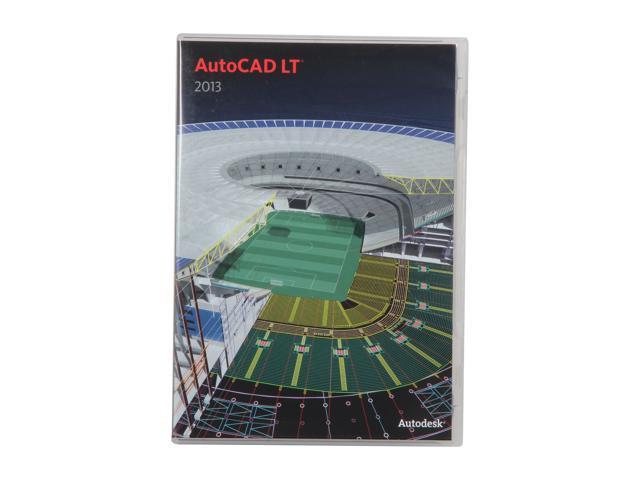 Autodesk AutoCAD LT 2013 for PC