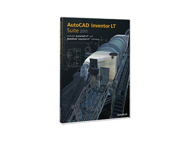 Autodesk AutoCAD Inventor LT Suite 2013 w/ 1 year Subscription