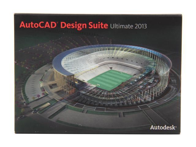 Autodesk AutoCAD Design Suite Ultimate 2013 Student