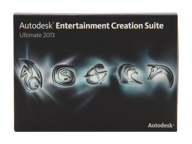 Autodesk Entertainment Creation Suite Ultimate 2013 Student