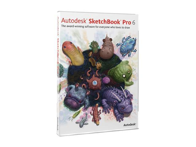 Autodesk Sketchbook Pro 6 - Upgrade From 1 - 3 Previous Versions
