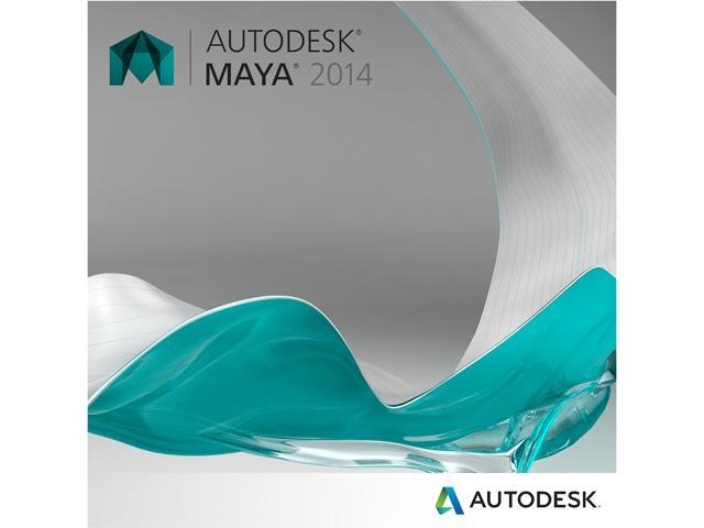 Autodesk Maya 2014 - Includes 1 year Autodesk Subscription