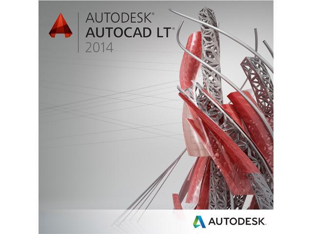 Autodesk AutoCAD LT 2014 for PC - Includes 1 year Autodesk Subscription