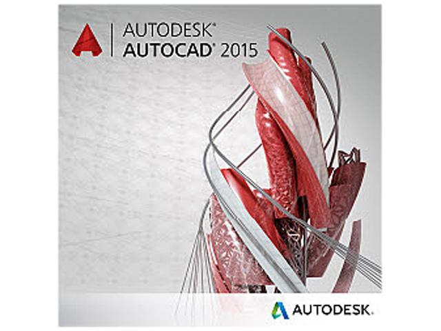 Autodesk AutoCAD 2015 - Annual Subscription License with Basic Support