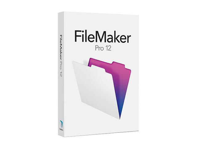 Filemaker Pro 12 Upgrade - Retail