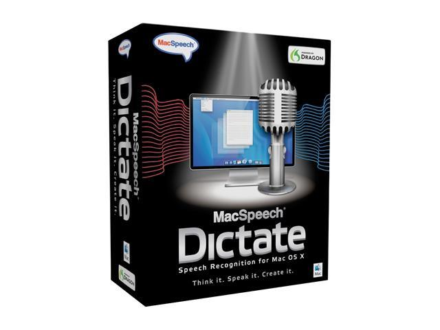 MacSpeech Dictate Educational