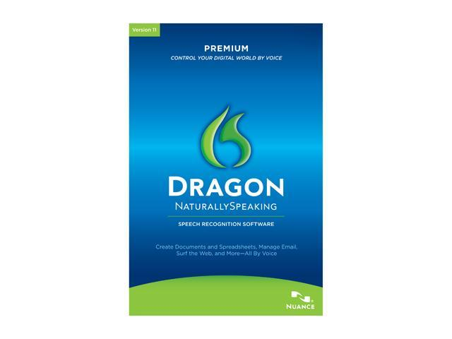 NUANCE Dragon Naturally Speaking Premium 11