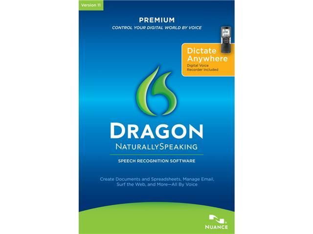 NUANCE Dragon Naturally Speaking Premium 11 with Recorder