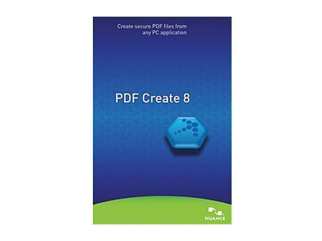 NUANCE PDF Create 8.0