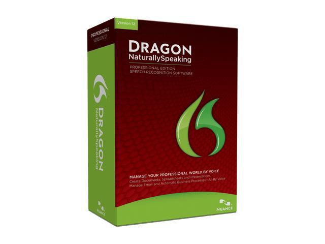 NUANCE Dragon NaturallySpeaking Professional 12