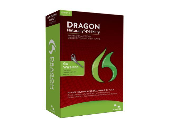 NUANCE Dragon NaturallySpeaking Professional 12 Bluetooth