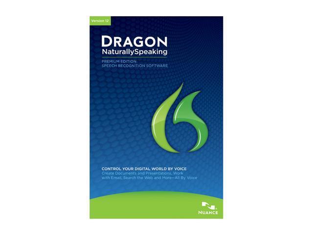 NUANCE Dragon NaturallySpeaking 12 Premium 2-User