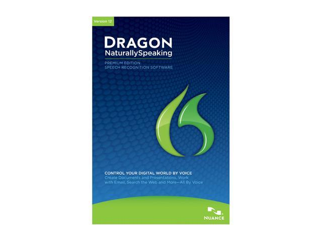 NUANCE Dragon NaturallySpeaking 12 Premium 5-User
