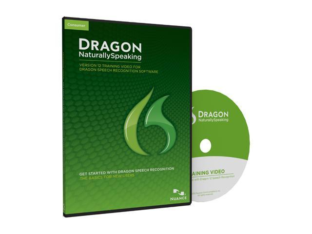 NUANCE Dragon NaturallySpeaking 12 Training DVD