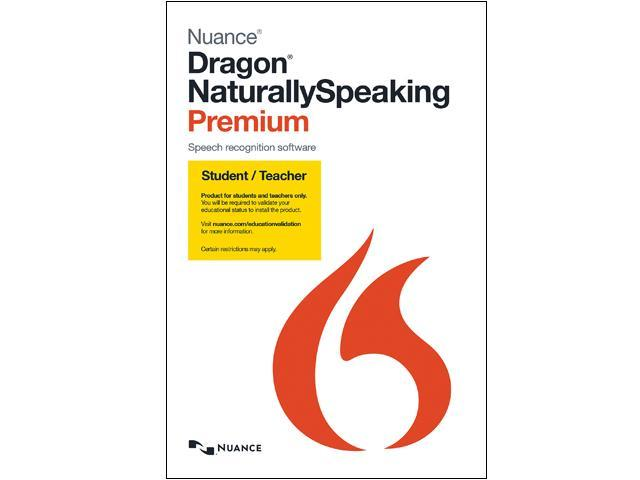 NUANCE Dragon NaturallySpeaking Premium 13 - Student & Teacher Edition