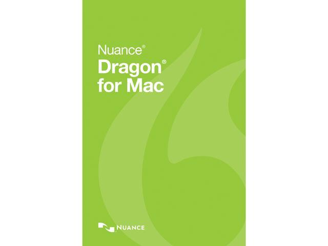 NUANCE Dragon for Mac 5.0 - Upgrade from 4.0