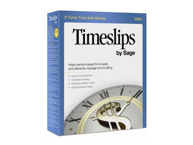Sage Timeslips 2009