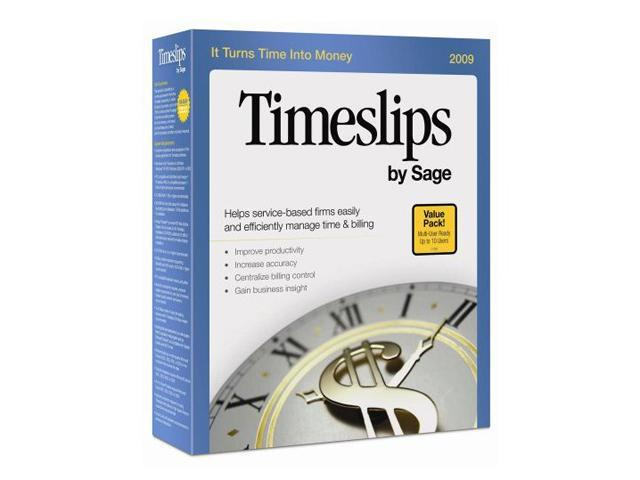 Sage Timeslips by Sage 2009 Multiuser - 10U Pack