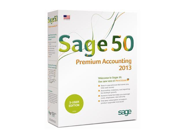 Sage Sage 50 Premium Accounting 2013 Single User