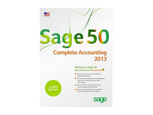 Sage Sage 50 Complete Accounting 2013 (Three User)