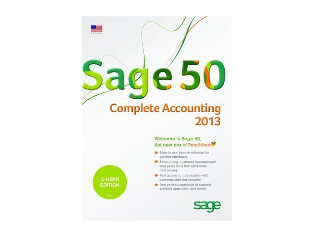 Sage 50 Complete Accounting 2013 (Five User)