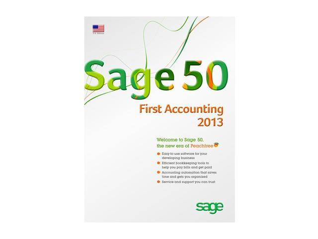 Sage Sage 50 First Accounting 2013