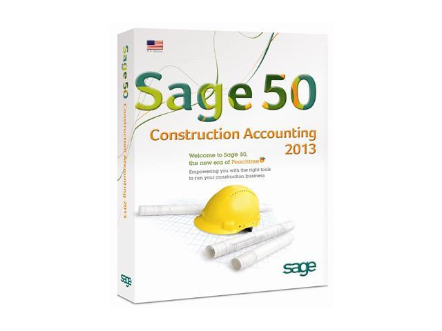Sage 50 Premium Construction Accounting 2013 (Single User)