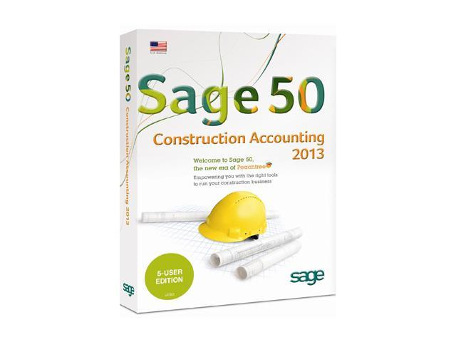 Sage 50 Premium Construction Accounting 2013 (Five User)