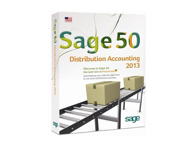Sage Sage 50 Premium Distribution Accounting 2013 (Single User)