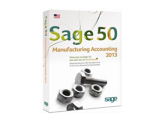 Sage Sage 50 Premium Manufacturing Accounting 2013 (Single User)