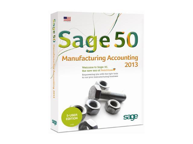 Sage Sage 50 Premium Manufacturing Accounting 2013 (Five User)