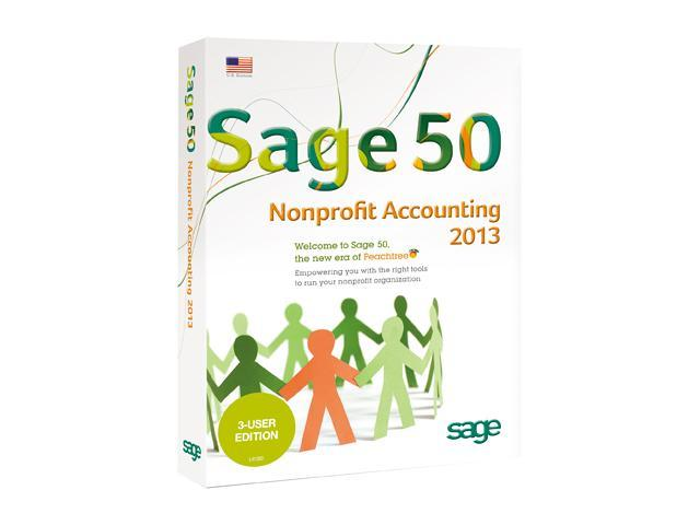 Sage 50 Premium Nonprofit Accounting 2013 (Three User)
