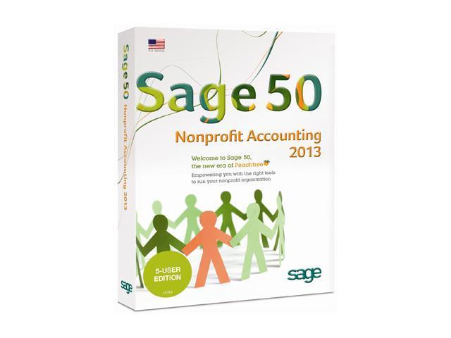 Sage 50 Premium Nonprofit Accounting 2013 (Five User)
