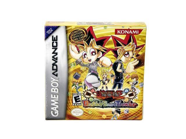 Yu Gi Oh Destiny Board Traveler GameBoy  Advance Game KONAMI