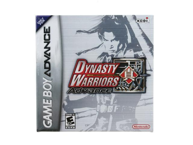 Dynasty Warriors Advance GameBoy Advance Game Tecmo Koei