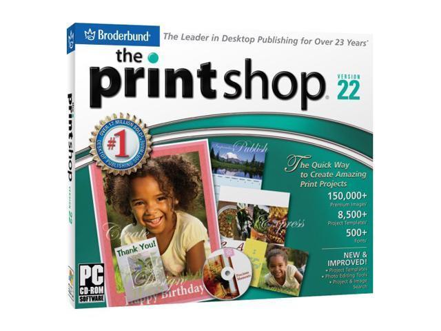Encore Software The Print Shop 22 Standardjewel Case