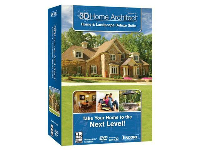 Encore Software 3D Home Architect Home & Landscape Design Suite ...