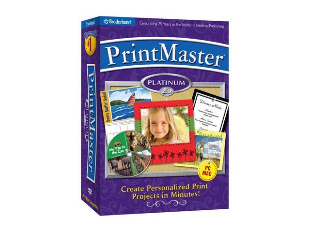 Encore Software PrintMaster Platinum 2.0