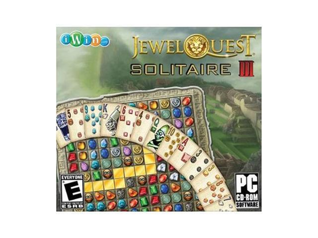 Jewel Quest Solitaire 3 Jewel Case PC Game