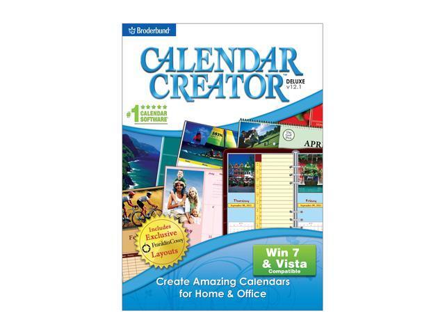Encore Software Calendar Creator Deluxe V12.1