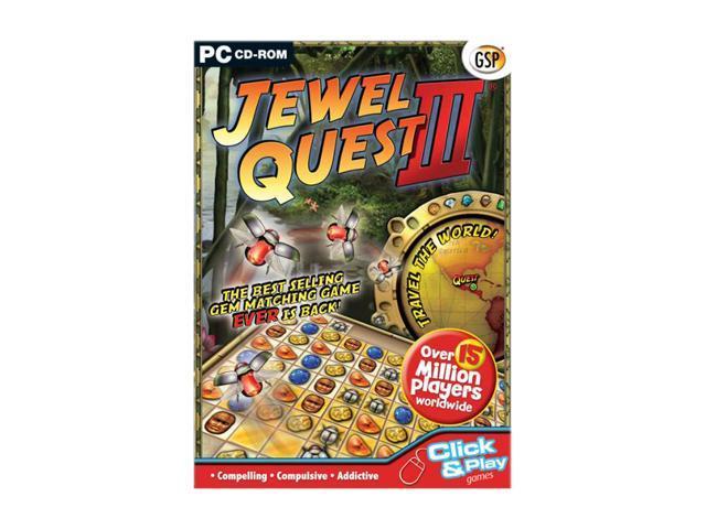 Jewel Quest 3 Jewel Case PC Game