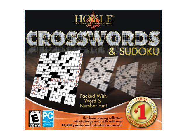 Hoyle Crosswords & Sudoku Jewel Case PC Game