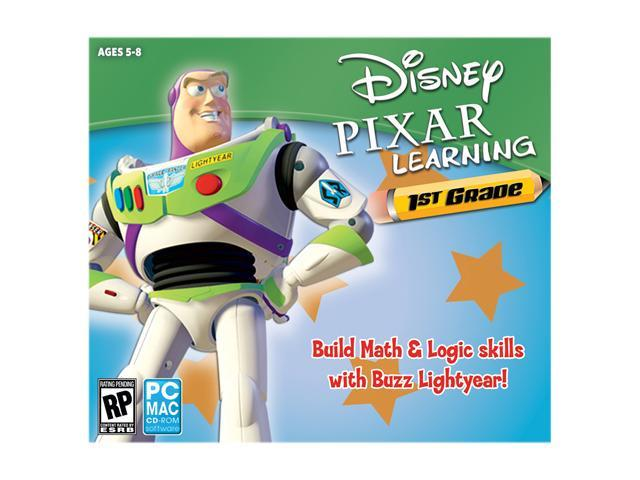 Encore Software Disney Pixar 1st Grade Jewel Case