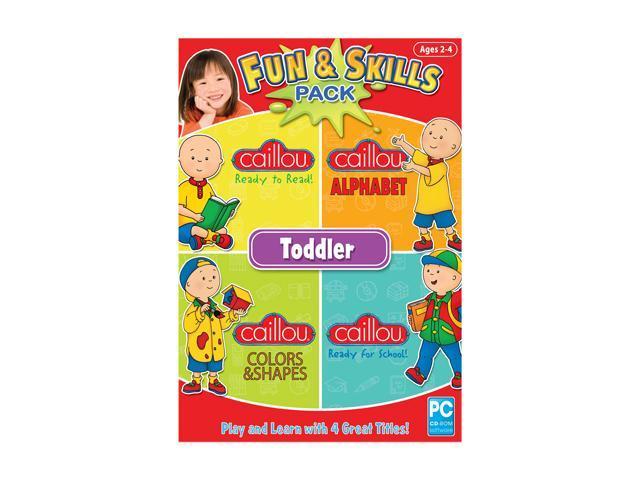 Encore Software Fun And Skills Toddler 2011 Small Box