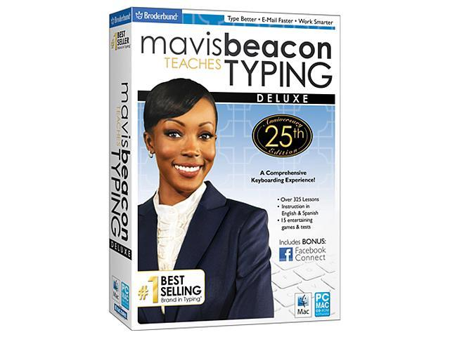 Encore Software Mavis Beacon Teaches Typing Deluxe 25th Anniversary