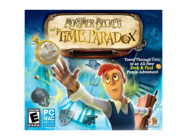 Mortimer Beckett and The Time Paradox Jewel Case PC Game
