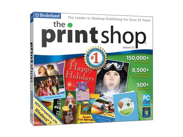 Encore Software The Print Shop V23 Jewel Case