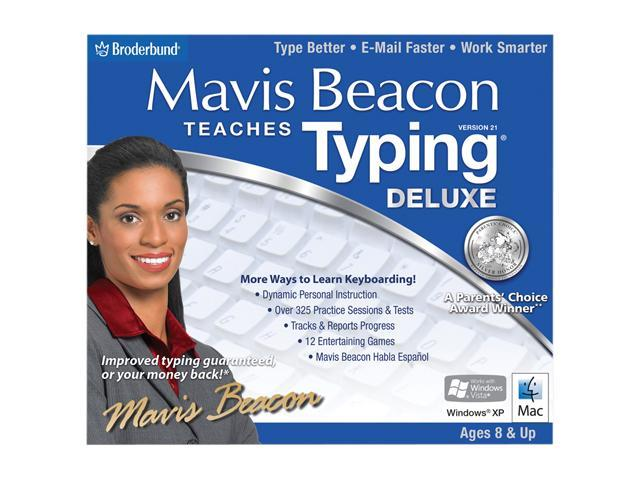 Encore Software Mavis Beacon Teaches Typing 21 Deluxe Jewel Case